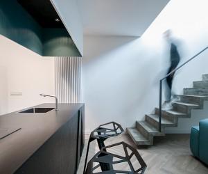 Theza Architects Designs Duplex Loft in Poland