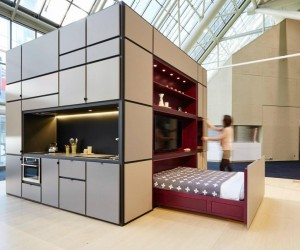 This 1,000 Cubic Feet Cube Contains An Entire House
