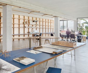 This Adaptable and Versatile Office Finds Space inside a Barcelona Warehouse