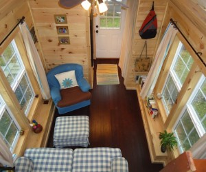 This adorably tiny home is surprisingly spacious