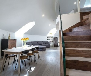 This Awesome London Penthouse Sits Inside a Revamped Orthodox Church