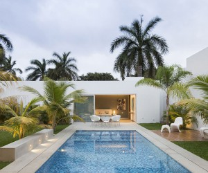This Contemporary House in Yucatan is Designed for the Perfect Staycation