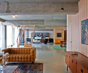 This Eclectic Loft in Belgium is Filled with Color and Quirky Details