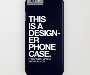 THIS IS A DESIGNER PHONE CASE by WORDS BRAND