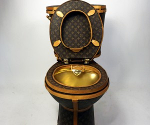 This Louis Vuitton Toilet by Illma Gore Can Be Yours For 100,000