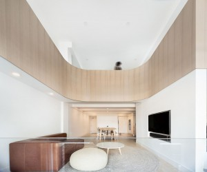 This Minimal Loft Inside a Converted Toronto Charm Has a Special Curved Surprise