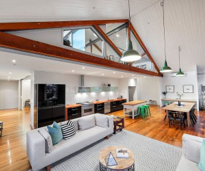 This Sparkling Penthouse in Melbourne was once the Trescowthick Tannery