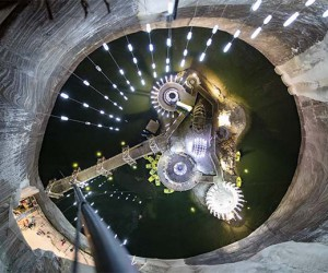 This Underground Park Inside a Romanian Salt Mine Looks Incredible