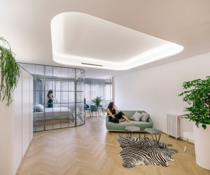 Three Apartments in Madrid by Manuel Ocaa