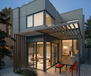 Through House by Dubbeldam Architecture Design