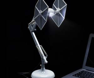 TIE Fighter Anglepoise Lamp