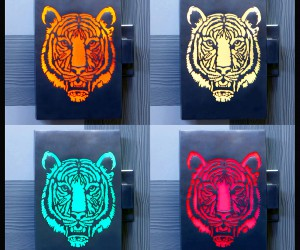 TIGER ILLUMINATED DOOR HANDLE