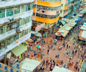 Tilt Shift Photography by Harold de Puymorin