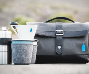 Timbuk2 x Blue Bottle Travel Coffee Kit