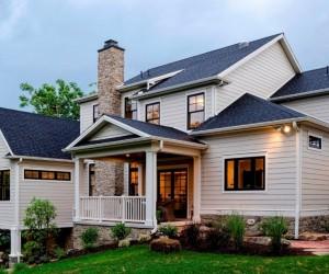 Timeless Design Showcased by Five-Bedroom Home in Pennsylvania  Read more: http:freshome.com20140722timeless-design-showcased-by-five-bedroom-home-in-pennsylvaniaixzz38KL8JpOv