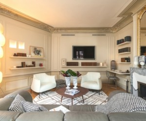 Timeless Parisian chic: luxury apartment design by Grard Faivre