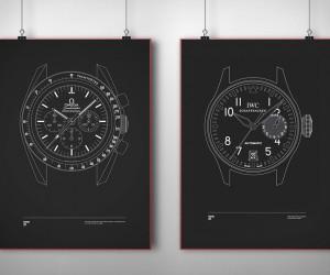 Timepiece Prints