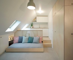 Tiny Attic Studio in Paris