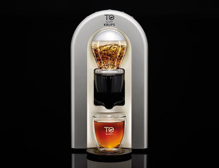 t o by lipton tea machine by 5 5 designstudio. Black Bedroom Furniture Sets. Home Design Ideas