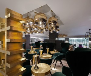 Tom Dixon Sandwich cafe at Harrods, London