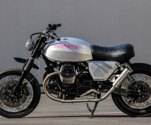 Tomoto by Tom Dixon x Moto Guzzi