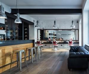 Tony Adams Babershop in Prague by OOOOX