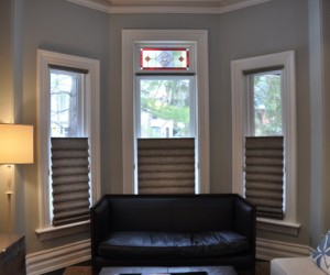 Top-down Bottom Up Vignette Roman Shades by Hunter Douglas