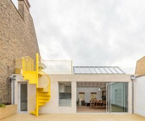 Top Floor Apartment in London Rebuilt by Vine Architecture Studio