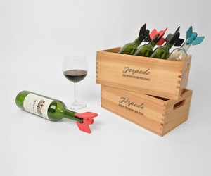 Torpedo Wine Stopper by ZEUP design studio