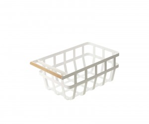 Tosca Storage Basket with Handle by Yamazaki