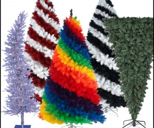 Totally Trippy Christmas Trees