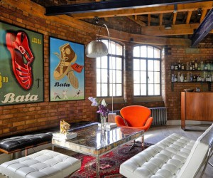 Tower Bridge London Apartment in a Converted Victorian Leather Warehouse