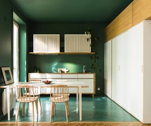 Townhouse in Paris by Les Ateliers Tristan  Sagitta