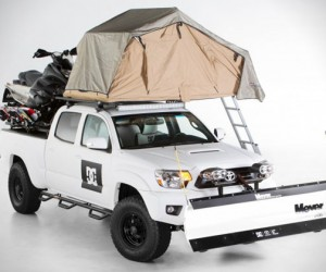 Toyota x DC Shoes Snow Plow Tacoma