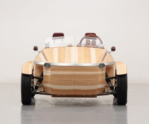 Toyotas Latest Concept Car is Made of Wood