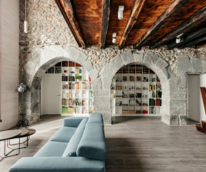 Traditional Basque House Converted into Two-Family Residence