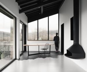 Traditional Farmhouse Converted into a Contemporary Home