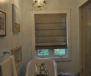 Traditional Roman Shades by Night and Day Window Decor