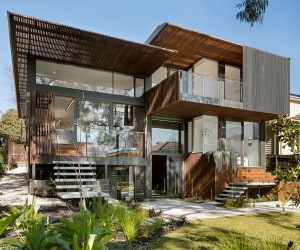Trail House: Multi-Level Green Home in Melbournes Suburb