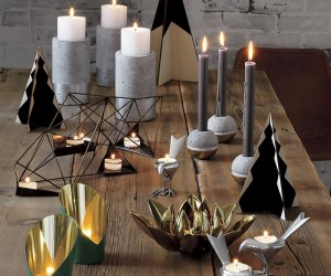 Transition Your Fall Decor to Winter with Metallic Flair