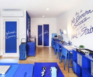 Translating ambition to aesthetics: Apostrophys colorful office design