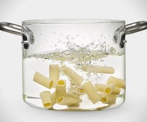 Transparent Glass Pot