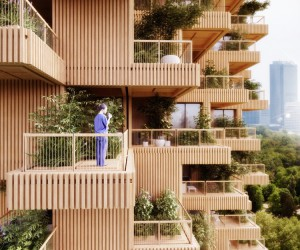 Tree Tower Toronto by Penda