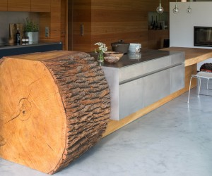 Tree Trunk Kitchen