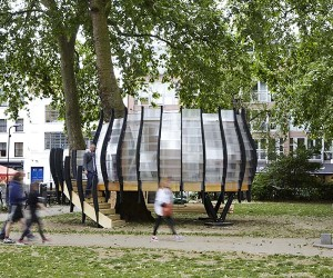 TREExOFFICE: Pop-up Tree Office Opens In London
