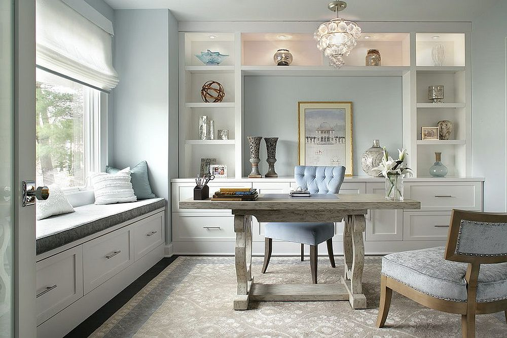 Trend Spotting Create A Soothing Home Office With Pastels