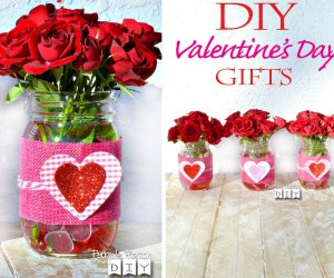 Trendy and Cute: DIY Purple and Violet Valentines Day Crafts