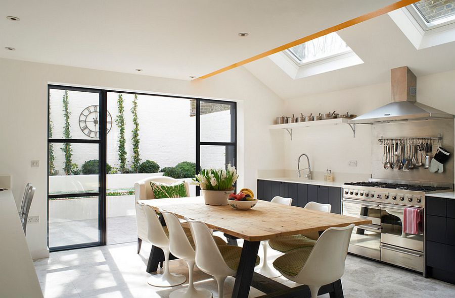 trendy eclectic kitchens that serve up personalized style - Eclectic Kitchen