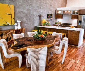 Trendy Ideas That Bring Gray and Yellow to the Kitchen