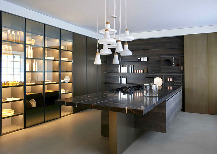 trendy kitchen design for the next season. Black Bedroom Furniture Sets. Home Design Ideas